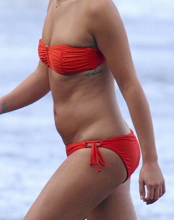 Lea Michele, Hawaii, 1er janvier 2013