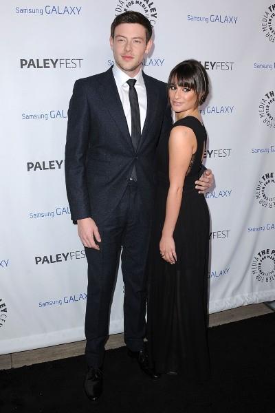 Lea Michele et Cory Monteith lors de la soirée Inaugural PaleyFest Icon Award à Los Angeles, le 27 février 2013.
