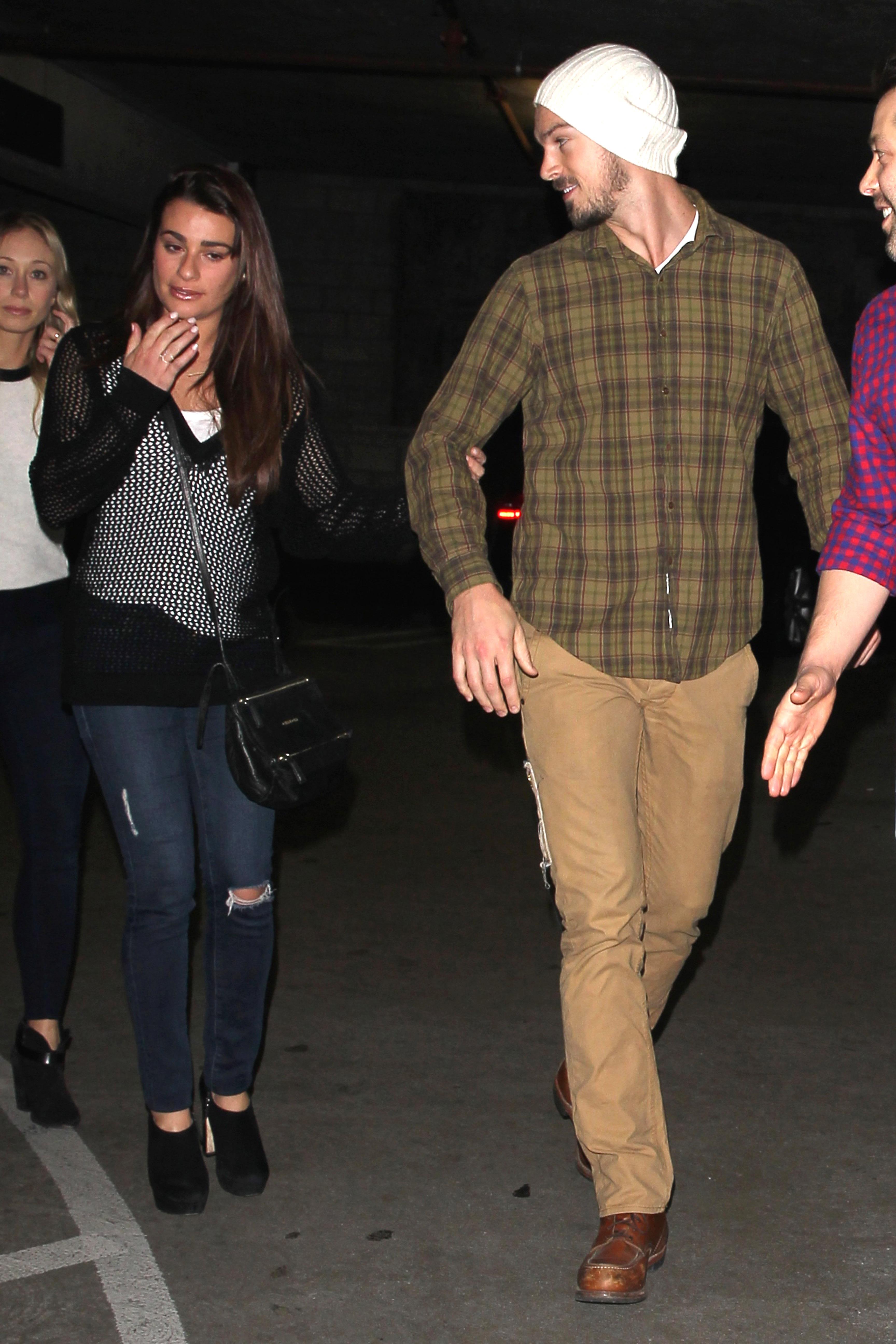 Photos : Lea Michele larguée : Matthew Paetz n'en pouvait plus!