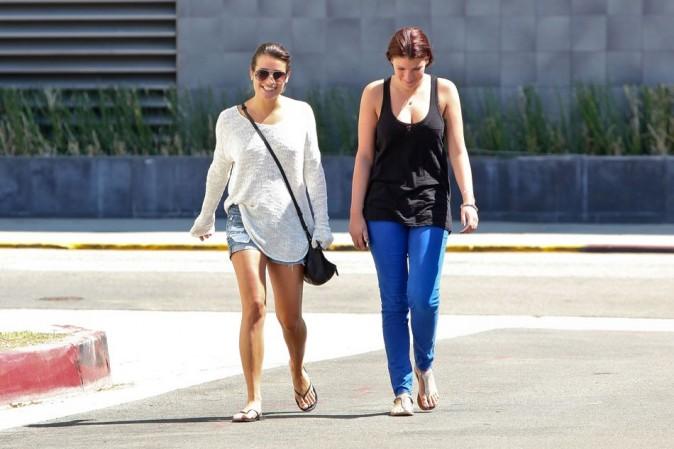 Lea Michele le 15 septembre à Beverly Hills