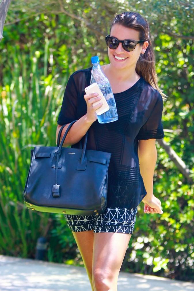 Photos : Lea Michele : plus heureuse que jamais !