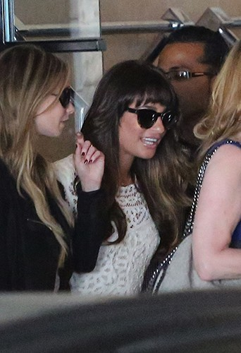 Lea Michele à Beverly Hills le 3 août 2013