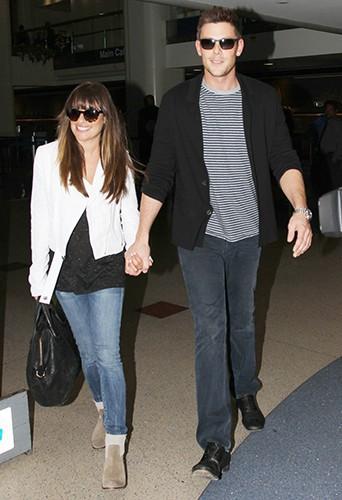 Lea et Cory, photographiés pour la dernière fois ensemble le 20 juin 2013