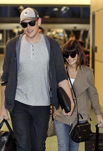 Lea Michele et Cory Monteith : toujours entre Vancouver et Los Angeles