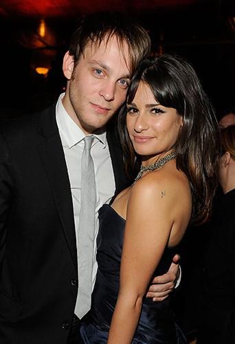 Lea Michele et Theo Stockman en 2010