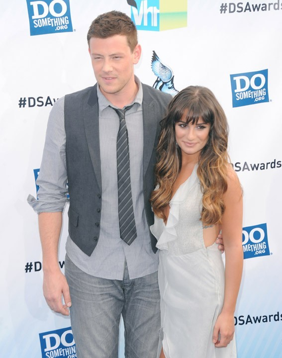Cory Monteith et Lea Michele à la cérémonie des Do Something Awards le 19 août 2012 à Santa Monica