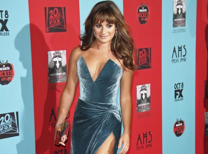 Lea Michele : sexy lady pour le lancement de la saison 4 d'American Horror Story !