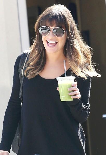 Lea Michele à West Hollywood, le 27 septembre 2012.