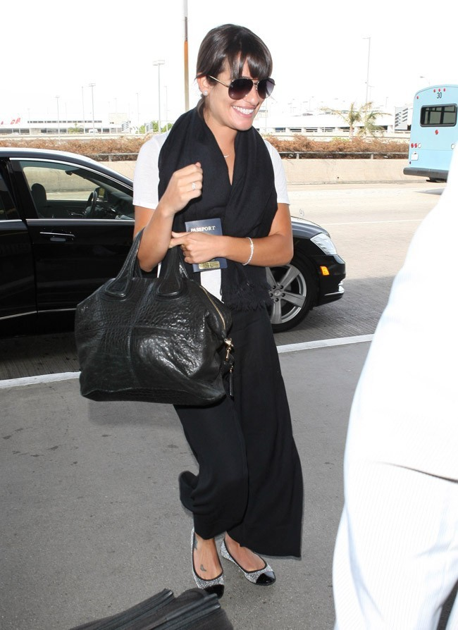 Lea Michele le 21 septembre 2012 à Los Angeles