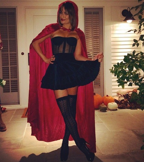 Photos : Lea Michele : ultra sexy, elle change de tête pour Halloween !