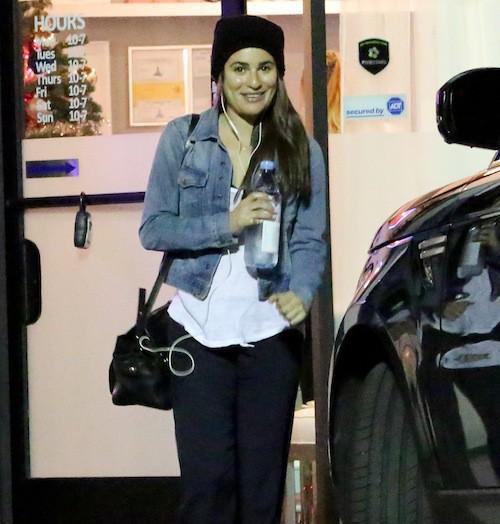 Photos : Lea Michele : voilà à quoi elle ressemble sans make-up !