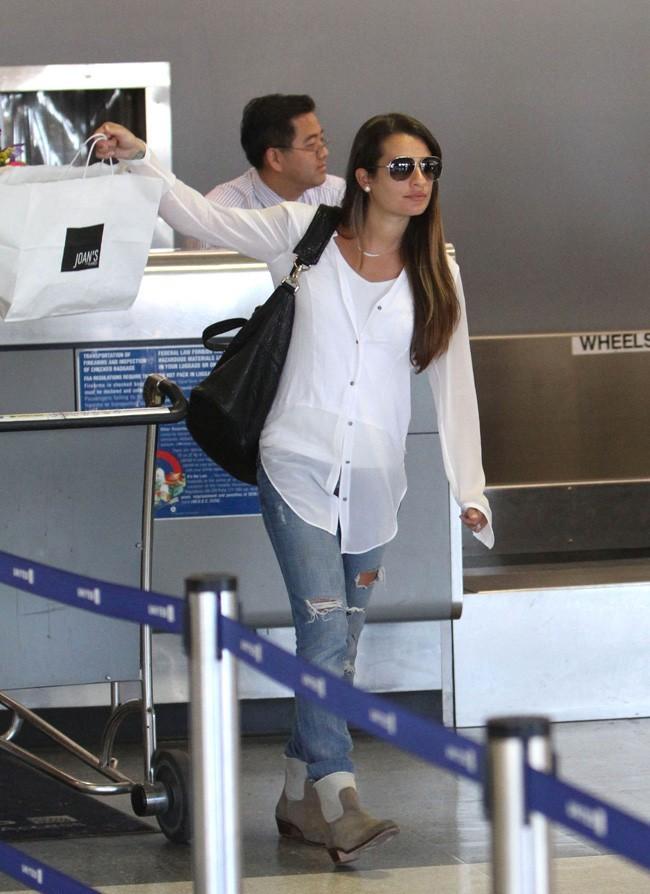 Lea Michele le 19 juillet 2012 à Los Angeles