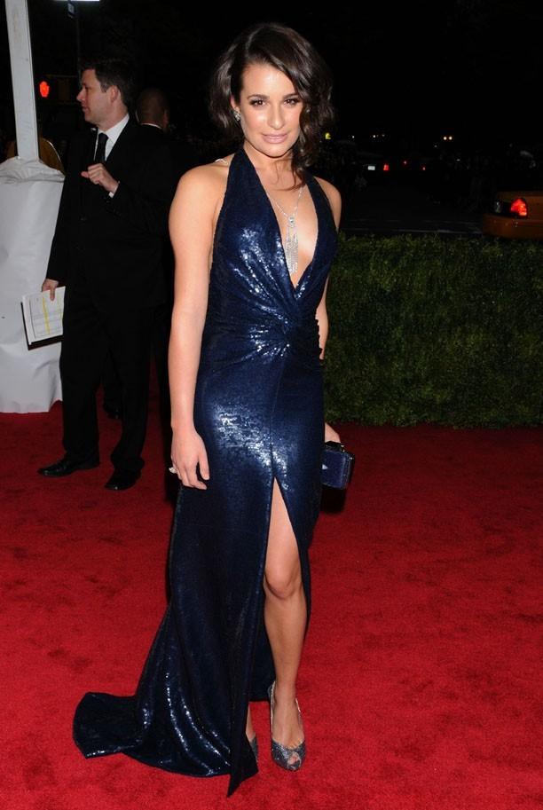 Lea Michele au MET Ball le 7 mai 2012