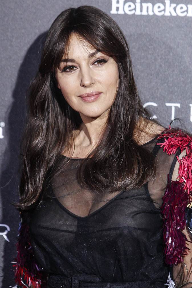 Monica Bellucci à Madrid le 28 octobre 2015