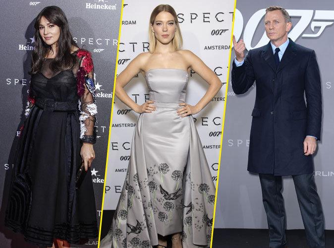 Monica Bellucci, L�a Seydoux, Daniel Craig... Une soir�e et trois avant-premi�res m�morables !