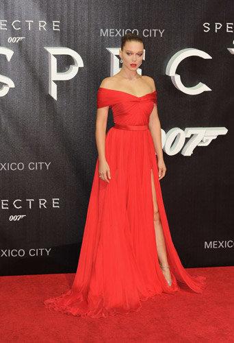 Léa Seydoux à l'avant-première de Spectre à Mexico, le 2 novembre 2015