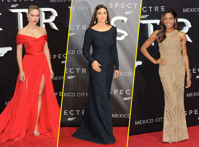 Photos : Léa Seydoux, Monica Bellucci et Naomie Harris : beautés fatales à Mexico !