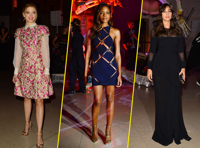 Photos : Léa Seydoux, Naomie Harris, Monica Bellucci : spectaculaires à l'after-show de Spectre !