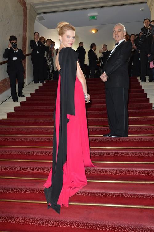 Léa Seydoux à la cérémonie des César en février 2013