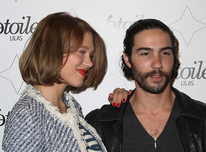 Léa Seydoux et Tahar Rahim à Paris le 27 août 2013