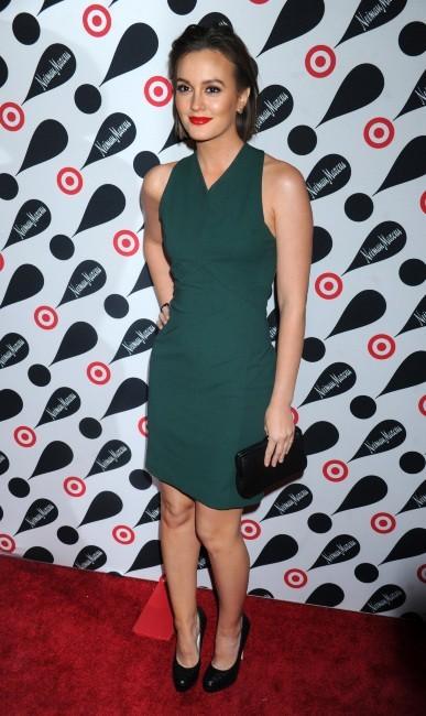 """Leighton Meester lors de la soirée """"Target + Neiman Marcus Holiday Collection"""" à New York, le 28 novembre 2012."""