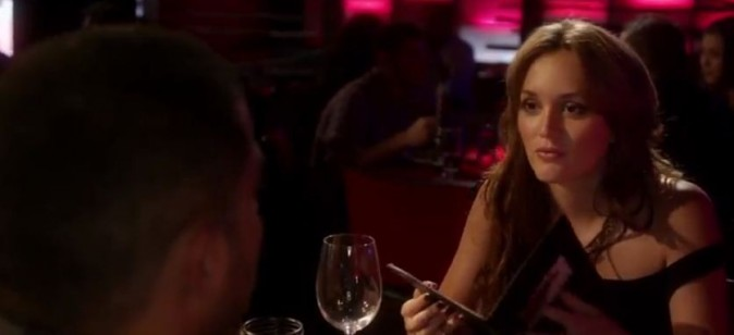 Leighton Meester dans le clip Addicted to love