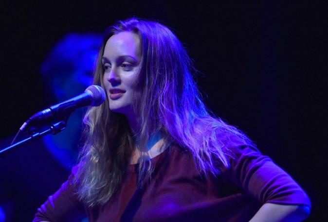 Leighton Meester à Chicago le 24 février 2015