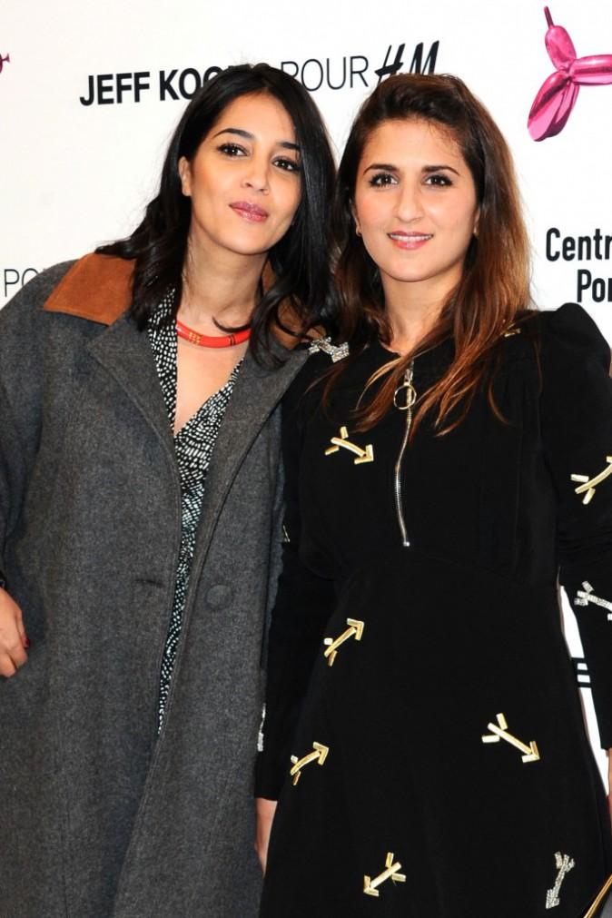 Photos : Leila Bekhti et Géraldine Nakache : BFF stylées face à Pierre Sarkozy, Jeff Koons à l'honneur !