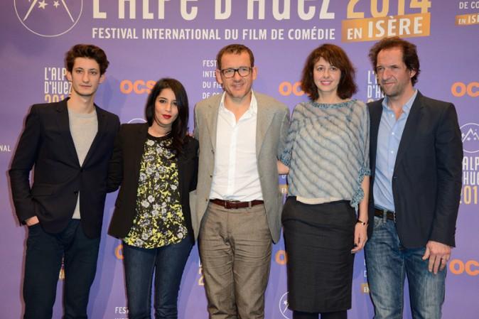 Leïla Bekhti au Festival International du film de comédie de l'Alpe d'Huez le 15 janvier 2014