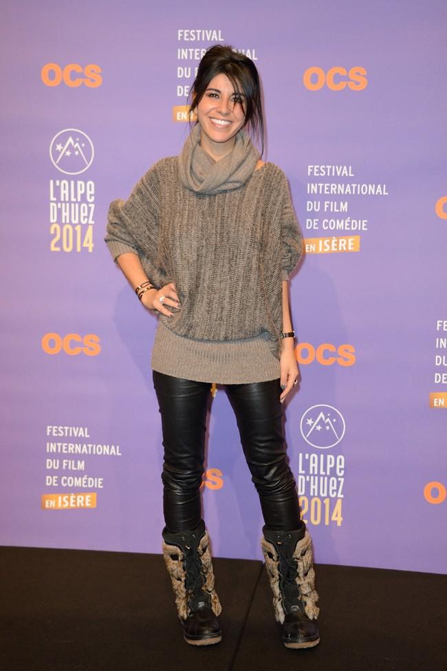 Rheem Kherici au Festival International du film de comédie de l'Alpe d'Huez le 15 janvier 2014