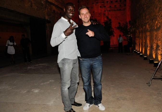 Omar et Fred lors du Festival Marrakech du rire, à Marrakech le 11 juin 2011.