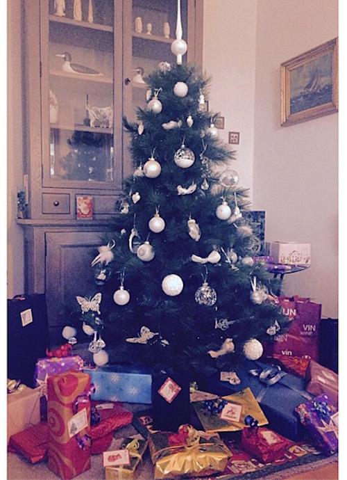 Fanny Neguesha a déjà ses cadeaux au pied du sapin !