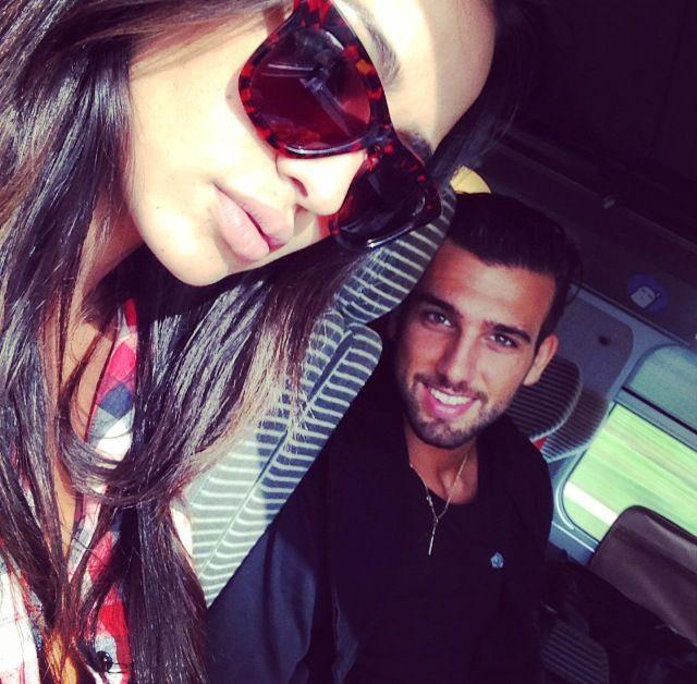 Photos : Leila et Aymeric : après Tunis et la Belgique, les tourtereaux s'envolent pour Milan !