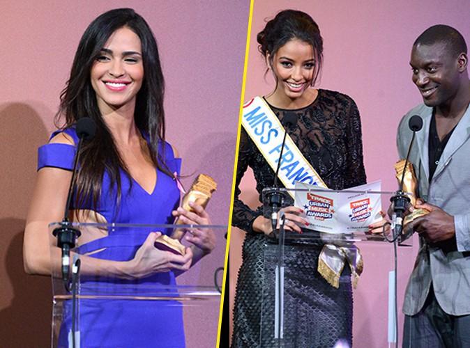 Photos : Leila (SS8) et Flora Coquerel : duel de beautés sexy aux Trace Urban Music Awards !