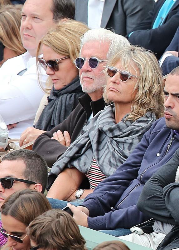 Irmelin Idenbirken, la maman de Leonardo Dicaprio, à Roland Garros, le 2 juin 2013