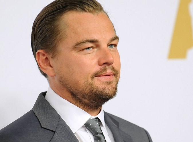 Photos : Leonardo DiCaprio copine avec Sylvester Stallone au déjeuner des Oscars