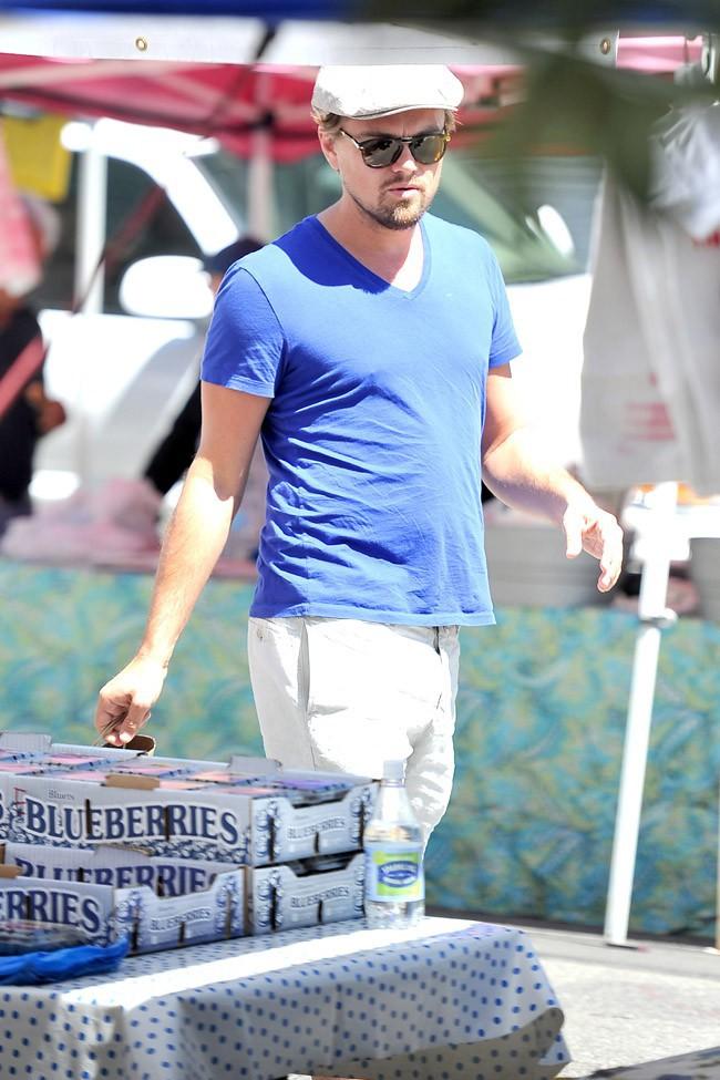 Leonardo DiCaprio à Los Angeles le 6 avril 2014