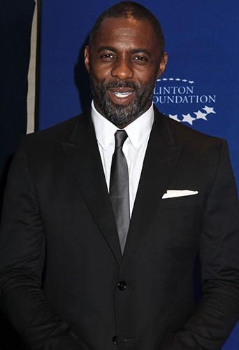 Idris Elba à New York le 21 septembre 2014