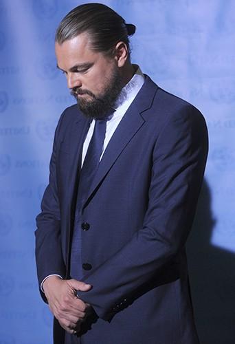 Leonardo DiCaprio à New York le 21 septembre 2014