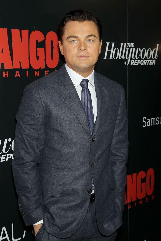 Leonardo DiCaprio le 11 décembre 2012 à New York