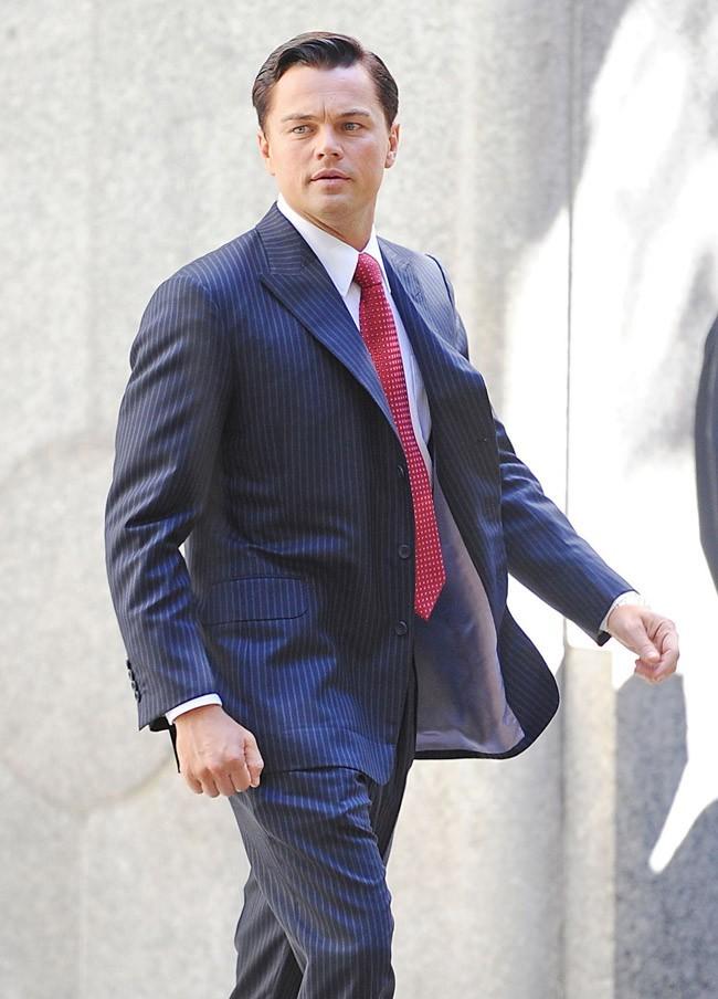 Leonardo DiCaprio sur le tournage de son dernier film le 25 septembre 2012 à New York
