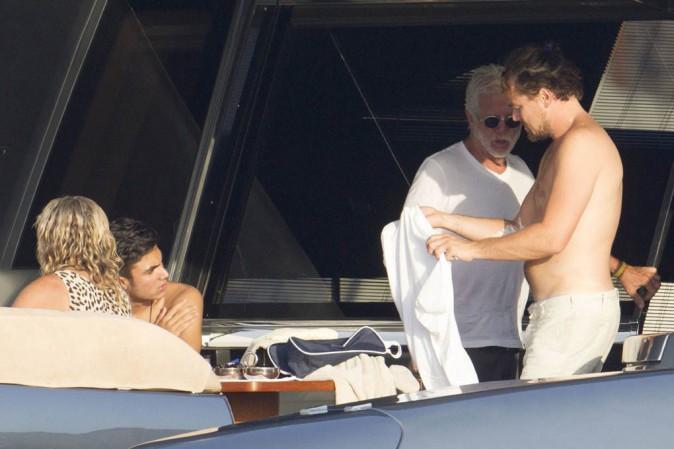 Leonardo Dicaprio à Ibiza le 7 août 2013