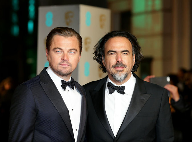Photos : BAFTA 2016 : Leonardo DiCaprio : sacré roi, il remercie la femme de sa vie!