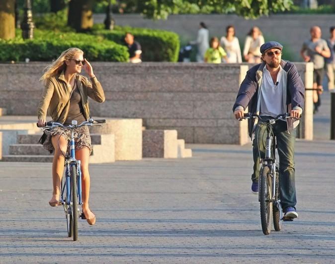 Le vélo : passage obligé pour toutes les copines de Leo