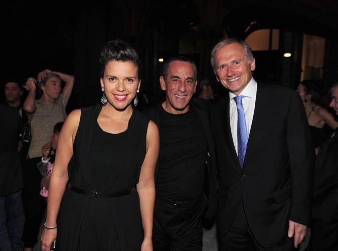 Thierry Ardisson, avec les présidents de la chaîne