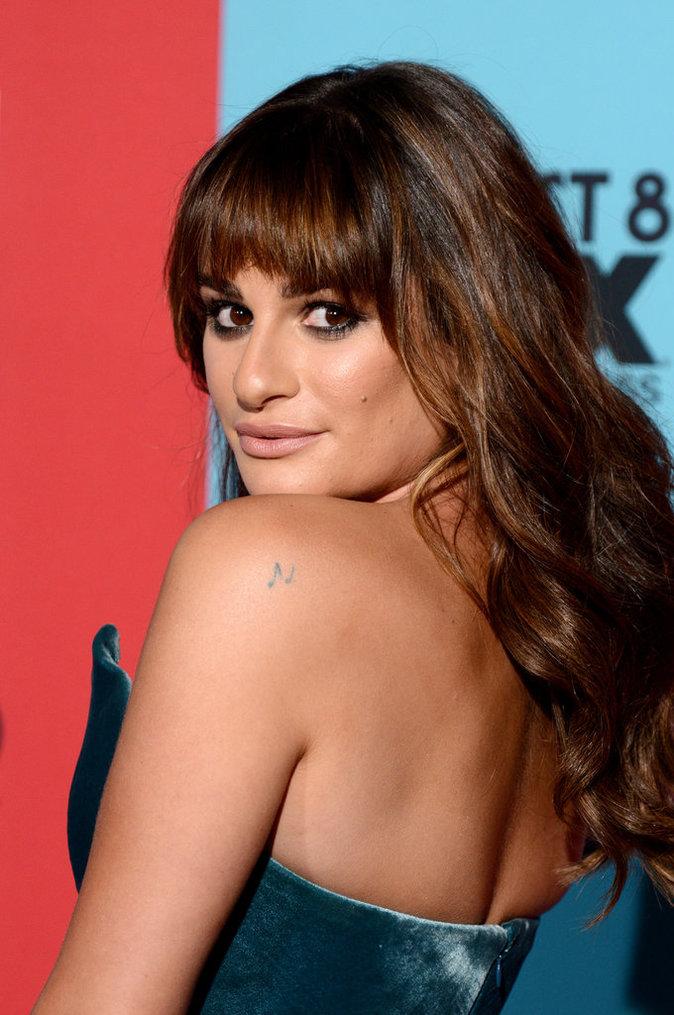 Les petites notes de musique de Lea Michele