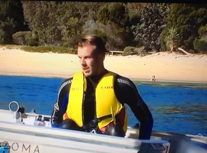 Julien blond a peur en plongée !