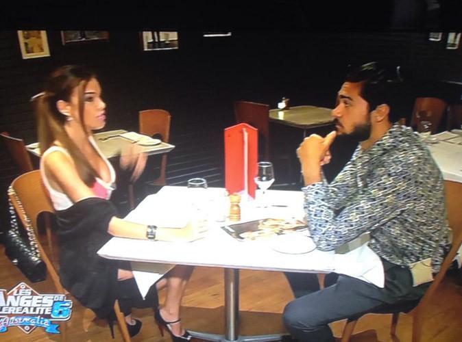 Vanessa et Julien brun s'offrent une soirée en amoureux