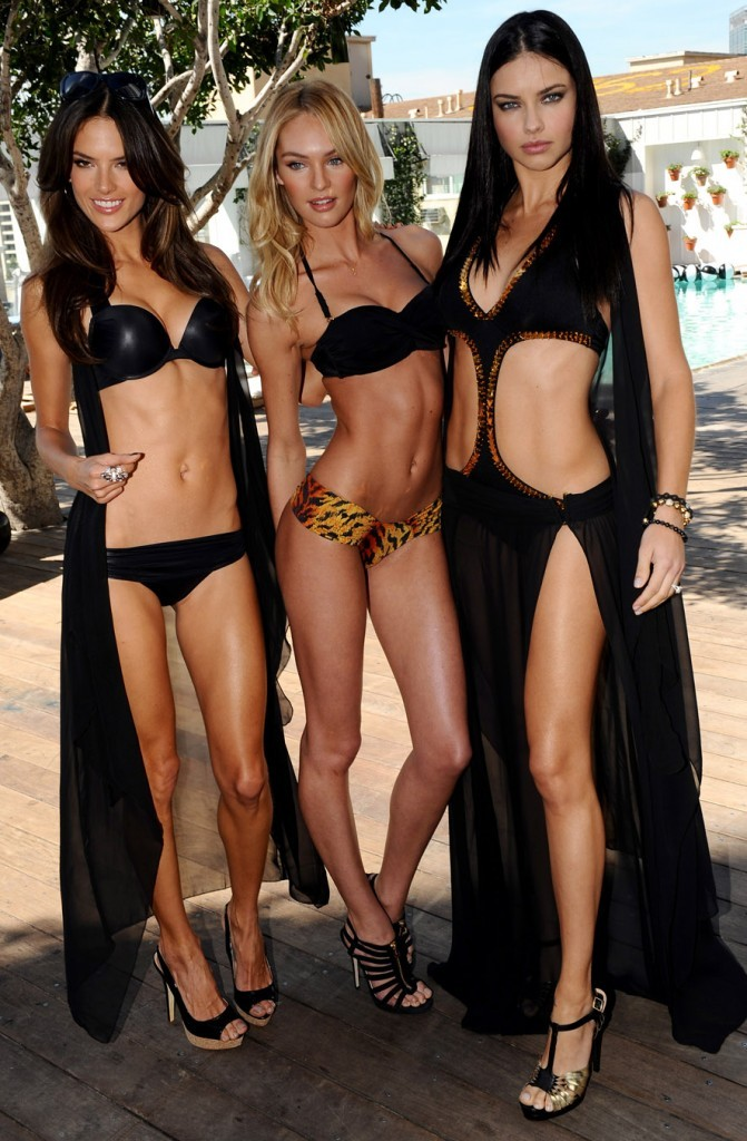 Alessandra Ambrosio, Candice Swanepoel et Adriana Lima, les trois bombes en maillots !