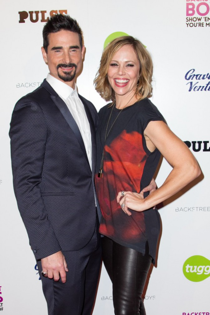 Kevin Richardson et Kristin Richardson le 29 janvier 2015